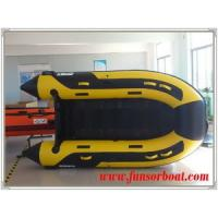 Quality 2015 fashion design hot selling slatted floor foldable inflatable boats-2.9m for sale