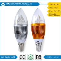 Epistar Chip 400Lm LED Candle Bulbs , 4W LED Candle Light Bulbs 4000K Natural White Manufactures