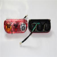 China Three Color Square Led Tail Lights , Small Car Led Tail Lights Energy Saving on sale