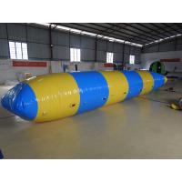 Quality Outdoor Inflatable Water Toys , Combination Inflatable Water Trampoline With Slide for sale