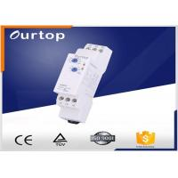 18mm Wide Multifunction Timer Relay , Staircase Light Time Switch Multi Voltage Manufactures