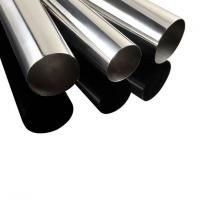 OEM 200 Series 12m length Satin polish 6 inch 800G Mirror finish welded stainless steel tube pipe for food grade  Manufactures