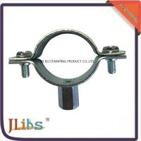 M8+10 Nut Cast Iron Pipe Clamps For Pipe Connection , Pipe Clamp Bracket