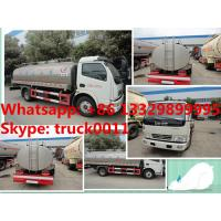 Quality factory sale best price dongfeng 8,000L milk truck for sale, hot sale stainless for sale