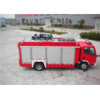 3925kg Shipping Mass ISUZU Chassis Light Fire Truck 4x2 Drive Type 6705×2200×3210mm