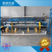 2 Meters Width PLC Control Chain Link Wire Machine Full Automatic Manufactures