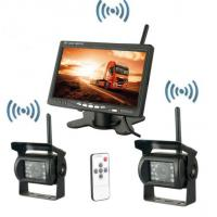 Quality Security Vehicle Reversing Systems Wireless 400/1 Rearview Camera 7 Inch Monitor for sale