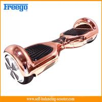 Intelligent 6.5 Inch Self Balancing Scooter With Electroplating Manufactures
