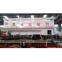 best price animal feed tank mounted on cargo truck for sale, factory direct sale