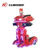 China 2019 popular game machine new design rc electric robot toys mini robot amusement park ride on robot for kids on sale