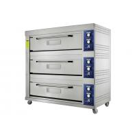 Large Capacity Gas Baking Ovens with Stainless Steel Housing Toughened Glass Door Manufactures