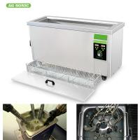 Stainless Steel 304/316 Ultrasonic Filter Cleaning Machine 20 Minutes Cleaning Time Manufactures
