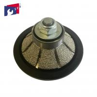 China Bevel E5 Diamond Router Bits Profile Wheel For Shaping Profiling Granite on sale