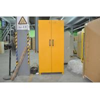 Laboratory Grounding Corrosive Chemical Storage Cabinets With Double Vents 90min fireproof safety cabinets Manufactures