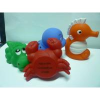 Bath Tub Squirting Water Animal Toys , Solf Plastic Vinyl Sea Life Creatures Toys Manufactures