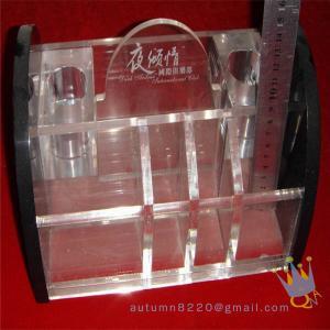 clear acrylic makeup organizer Manufactures