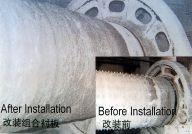 Boltless Ball Mill Lining For Coal Mill , Cement Mill , Mine Mill Manufactures