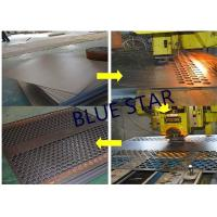 Decorative Perforated Sheet Metal Panels , Perforated Copper Sheets Corrosive Resistance Manufactures