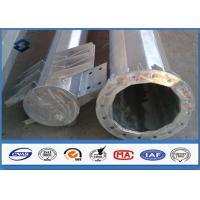 110kv Galvanized Electrical Steel Tubular Pole Self Supporting With Electric Accessories Manufactures