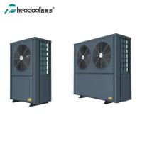 Free Standing EVI Commercial Heat Pump / Domestic Hot Water And Floor Heat Pump Unit Manufactures