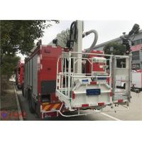 Buy cheap 4x2 Drive 6 Cylinder Diesel Engine Aerial Ladder Fire Truck 177Kw 2400r/min from wholesalers