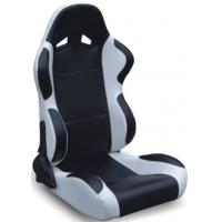Black And Grey Racing Seats Fully Reclinable + Slider Universal 1 Pair Jbr 1004 Series Manufactures