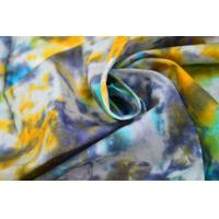 Tie - Dye  Waxed Cotton Canvas / 8OZ Woven Cotton Fabric For Bags Manufactures