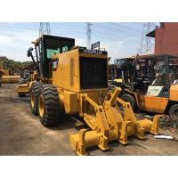 Heavy Equipment Used Motor Grader With Ripper , Cat 140h Motor Grader Year 2014 Manufactures