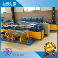 4m Weaving Breadth Chain Link Fence Making Machine , Chain Link Fence Equipment Manufactures