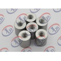 6061 T6 Metal Machined Parts  Anodizing Flat Head Aluminum Nuts With M5 Threaded Manufactures