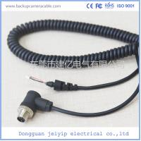5 Pin Black Color Backup Camera Cable Rear , View Camera Cable Waterproof Manufactures