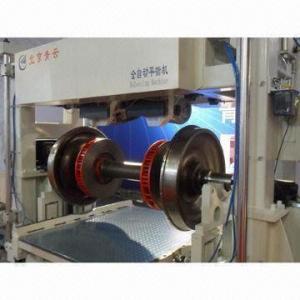 China Wheel Set Balancing Machine, Minimum Achievable Residual Unbalance of 1g.mm/kg on sale