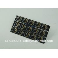 Gold Plating Custom Pcb Manufacturing Black Soldering With IC Lead BGA Manufactures