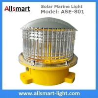 4NM 20LED Solar Marine Buoy Lantern Light Aviation Signal Warning Lights for Boat Aquaculture Ports Harbors Offshore Manufactures