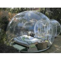 PVC Tarpaulin Inflatable Lawn Tent Transparent Bubble Tent With Repair Kits Manufactures