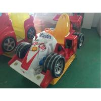 Quality Aircanades Race Car Kiddy Ride Machine , Coin Operated Kiddie Rides for sale
