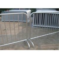 Buy cheap customized metal concert outdoor high proformance galvanized pvc coated crowd from wholesalers