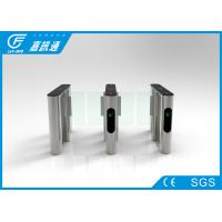 China Alarm Function Speed Gate Turnstile Stainless Steel Housing Channel Width 560 - 900mm on sale