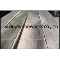 Hardwood Oak Veneer Sheets Plain Cut / Veneered Plywood Sheets Manufactures