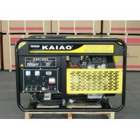 OHV 15kva 25L Fuel Tank Air cooled Gasoline Generator Low Oil Alarm System KGE18E Manufactures