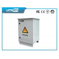 High Temperature Protection / Waterproof 10 KVA / 7000W 20Kva / 14KW Outdoor UPS System with SNMP Card Manufactures
