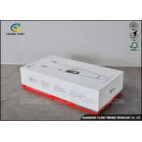 Durable Cardboard Small Packaging Boxes Printable For Electric Toothbrush Manufactures