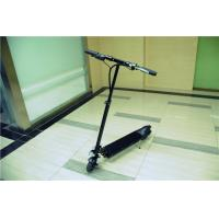 Energy Saving Handy Standing Electric Scooter with Rechargeable Battery , Black Manufactures
