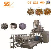SBN Animal Feed Processing Machine Dry Wet Type Extruded Double Screw Manufactures