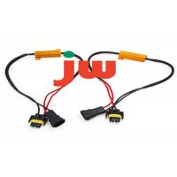Quality Red Trailer Hitch Wiring Harness , Flat Plug Trailer Wiring Kit 15A Rated for sale