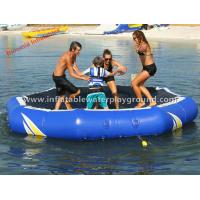 Superb Inflatable Water Trampoline , Kids / Adults Water Trampoline Park For Lake Manufactures