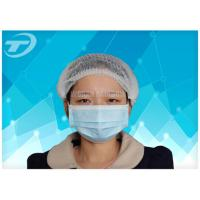 Customized Disposable surgical Non-woven 3 ply face mask tie on Anti Pollution Manufactures