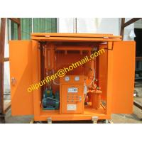 transformer oil purifier with car wheels,Movable Insulation Oil Filtration Machine,enclosed insulating oil filter unit Manufactures