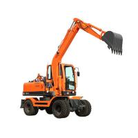WY75W-9 0.3m3 bucket hydraulic wheel digger with Yuchai supercharged engine and plunger pump Manufactures