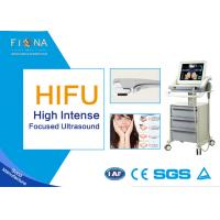 China Portable HIFU Ultrasound Machine , High Intensity Focused Ultrasound Machine Jowl Lifting on sale